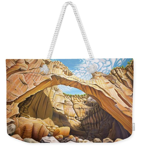La Vantana Natural Arch Weekender Tote Bag