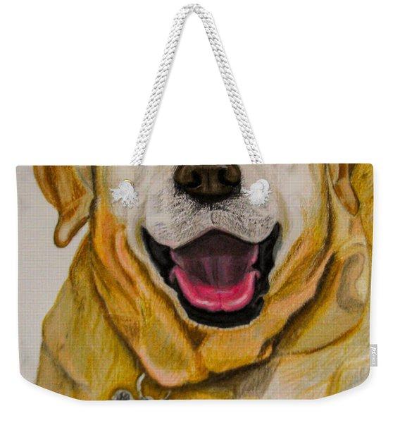 Labrador Retriever Drawing Weekender Tote Bag