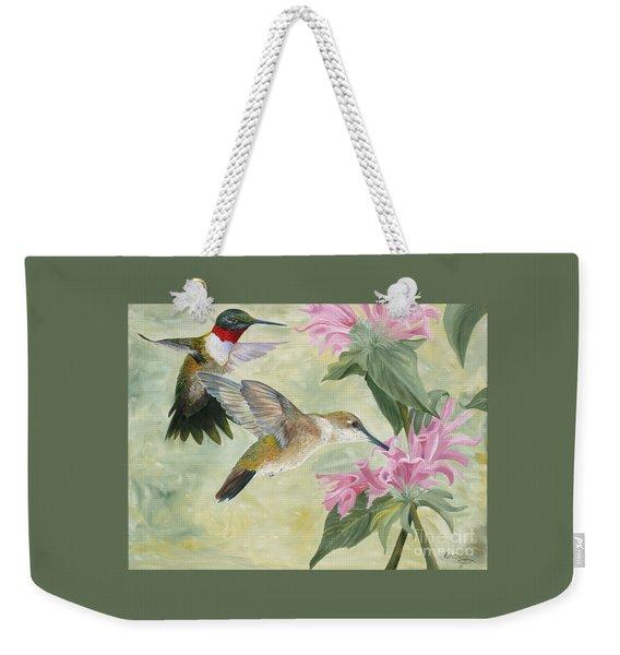 Ladies First Weekender Tote Bag