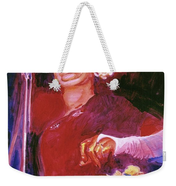 Lady Day - Billie Holliday Weekender Tote Bag