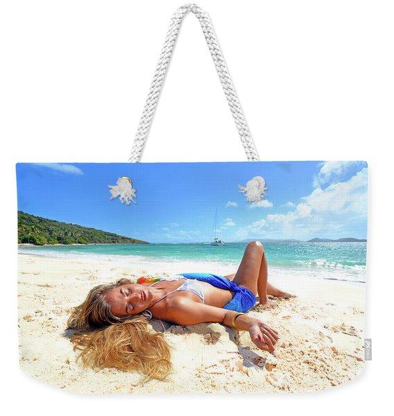 Lady Of The Leewards Weekender Tote Bag