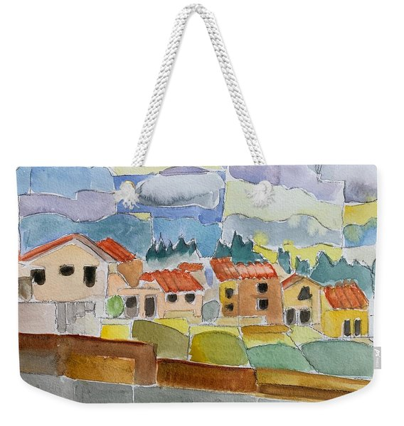 Laguna Del Sol Houses Design  Weekender Tote Bag