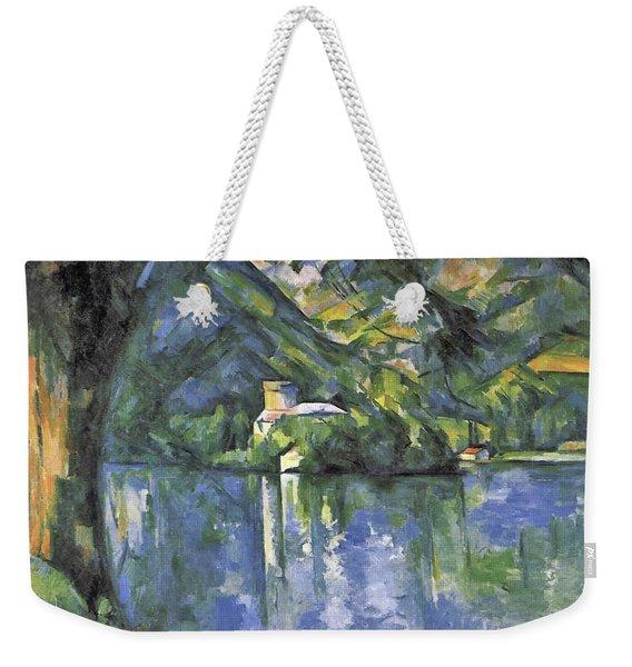 Lake Annecy Weekender Tote Bag
