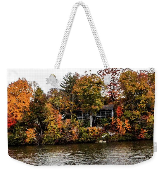 Lake Colors Weekender Tote Bag