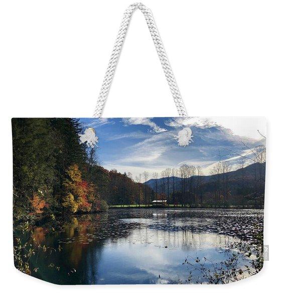 Lake Logan Weekender Tote Bag