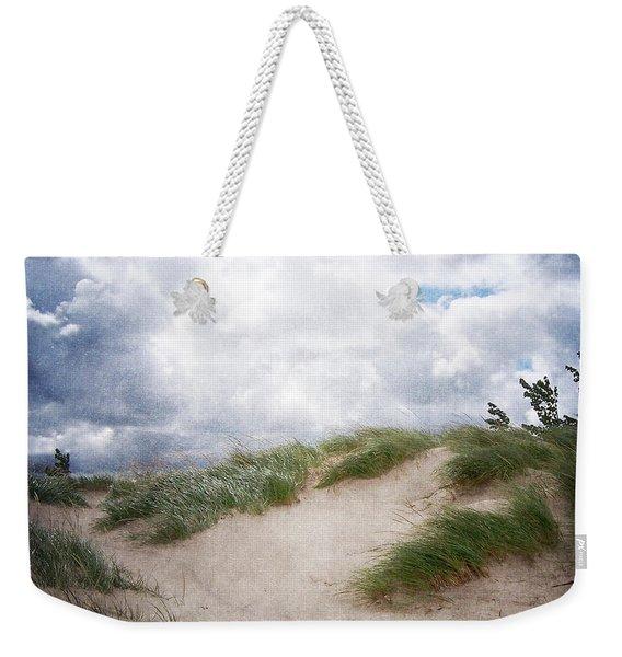 Lake Michigan Sand Dunes Weekender Tote Bag