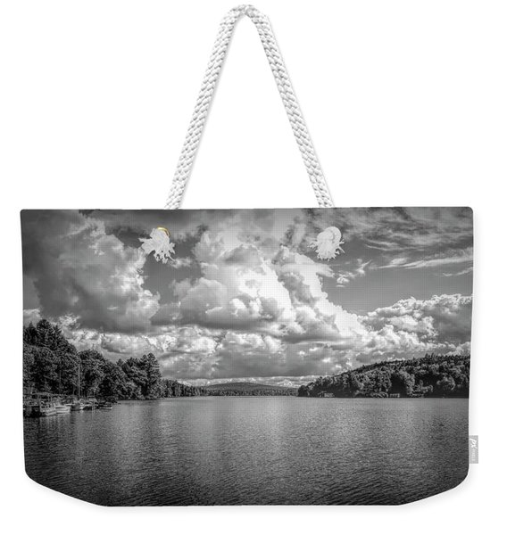 Lake Sunapee Weekender Tote Bag