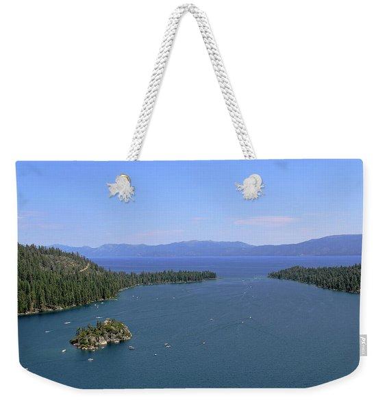 Lake Tahoe - Emerald Bay Weekender Tote Bag