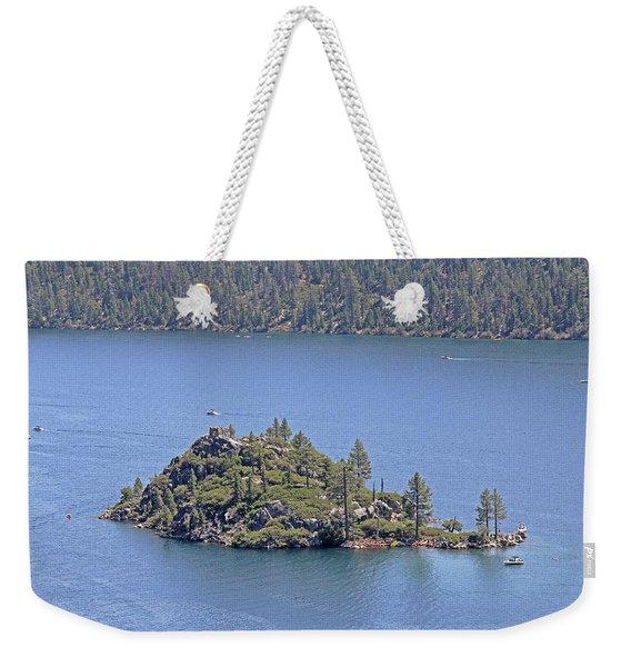 Lake Tahoe - Fannette Island Weekender Tote Bag