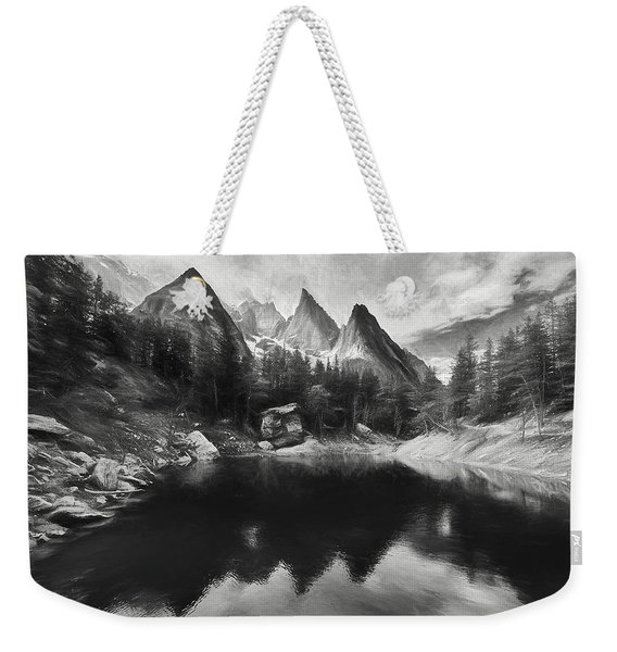 Lake Verde In The Alps IIi Weekender Tote Bag