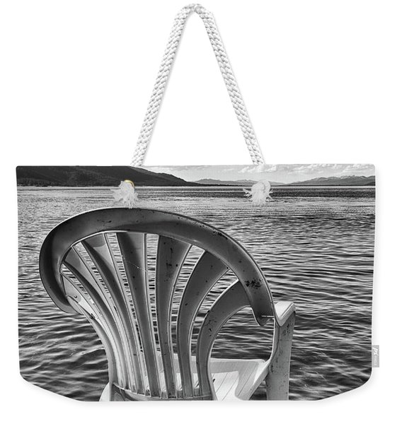 Lakeside Waiting Room Weekender Tote Bag