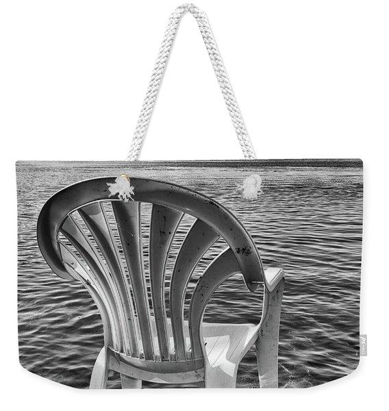 Lakeside Waiting Room Weekender Tote Bag
