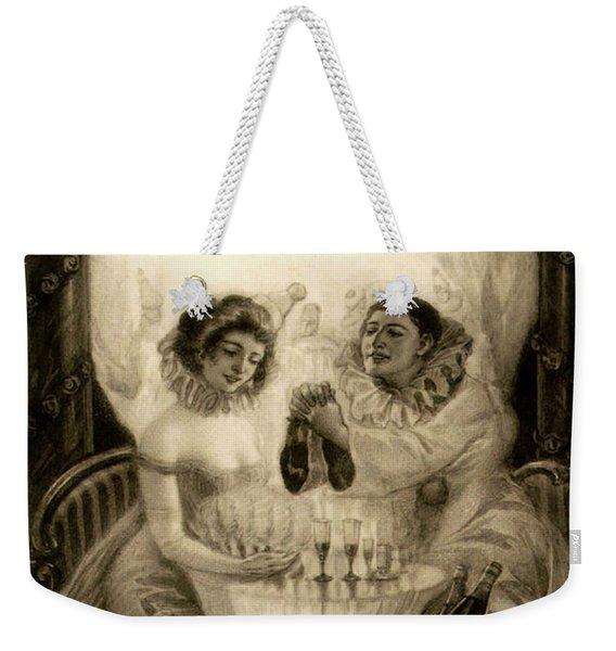 L'amour De Pierrot, 1905 Weekender Tote Bag
