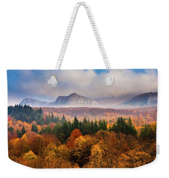 Land Of Illusion Weekender Tote Bag