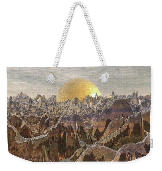 Land Of The Golden Orb Weekender Tote Bag