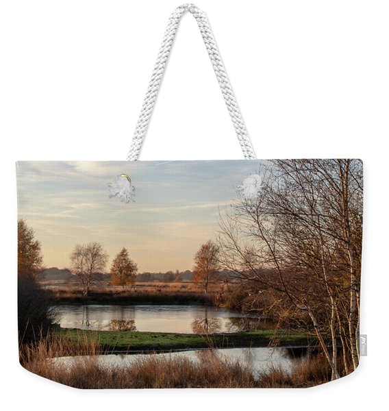 Weekender Tote Bag featuring the photograph Landscape Scenery by Anjo Ten Kate