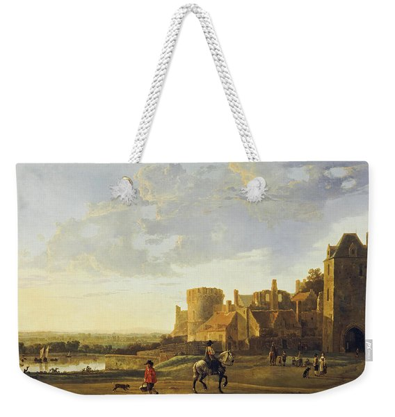 Landscape With A View Of The Valkhof, Nijmegen, 1660 Weekender Tote Bag