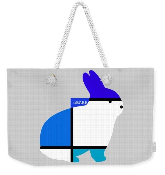 Lapin Agile Blue Weekender Tote Bag