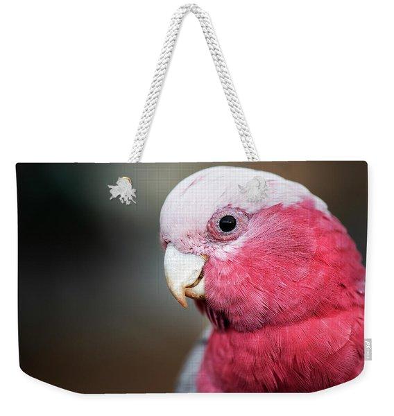 Large Pink And Grey Galah. Weekender Tote Bag