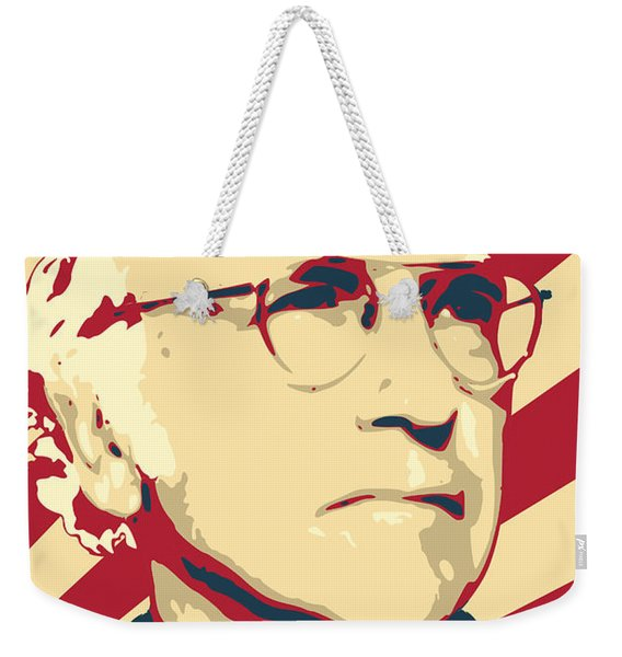 Larry David Resist Weekender Tote Bag