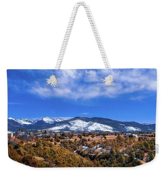 Las Trampas Scenic Overlook Weekender Tote Bag