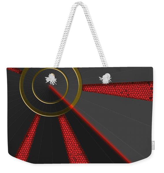 Laser Lock Sequencer Weekender Tote Bag