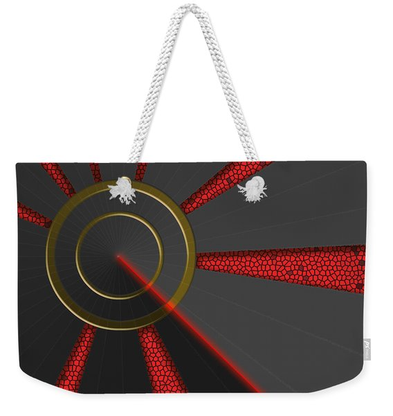 Laser Lock Sequencer Weekender Tote Bag