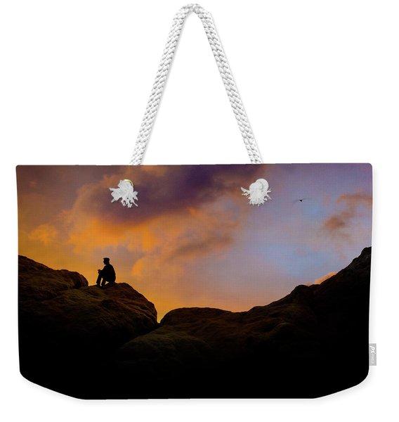 Last Light Weekender Tote Bag