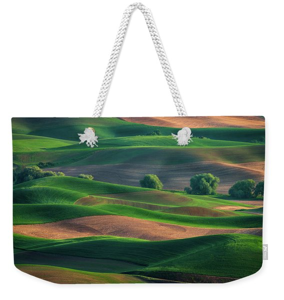 Late Afternoon In The Palouse Weekender Tote Bag