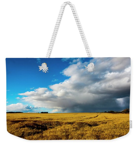 Late Summer Storm With Tornado Weekender Tote Bag