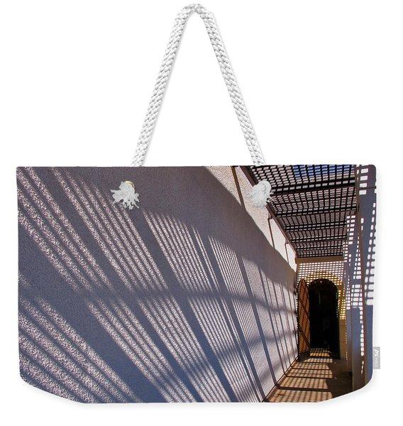 Lattice Shadows Weekender Tote Bag