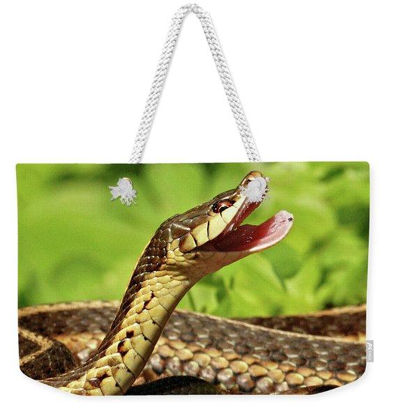 Laughing Snake Weekender Tote Bag
