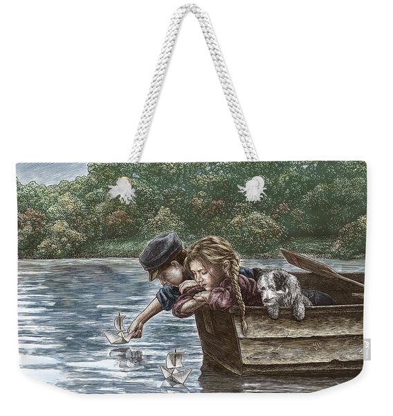 Launching Dreams Weekender Tote Bag