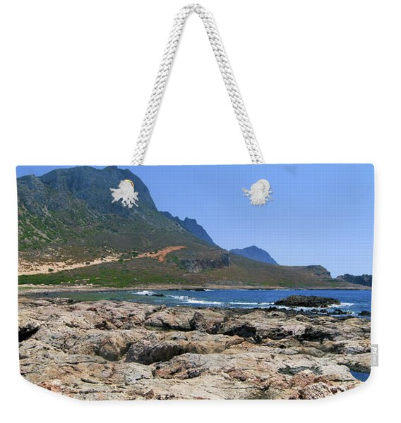 Lava Rocks Of Balos Weekender Tote Bag