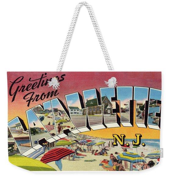 Lavallette Greetings Weekender Tote Bag