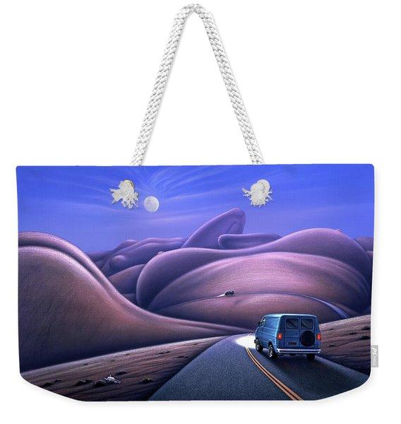 Lay Of The Land Weekender Tote Bag
