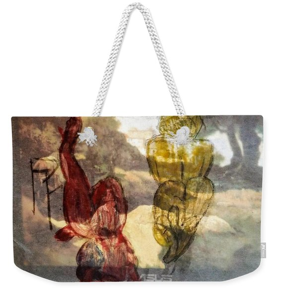 Laying Your Psychopathic Soul Bare Weekender Tote Bag
