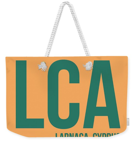 Lca Cyprus Luggage Tag I Weekender Tote Bag