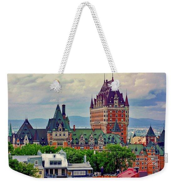 Le Chateau Frontenac Weekender Tote Bag