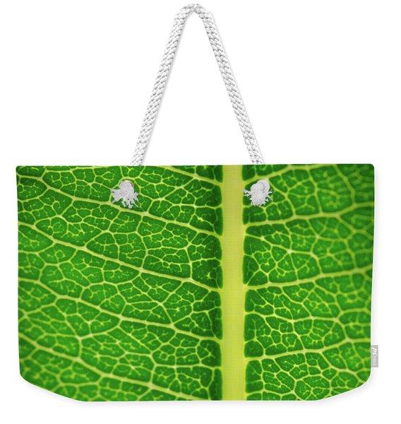 Leafy Detail Weekender Tote Bag