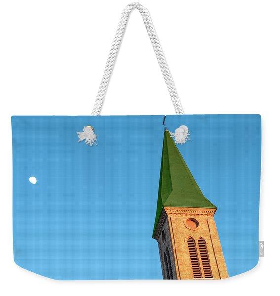 Leaning Steeple Weekender Tote Bag
