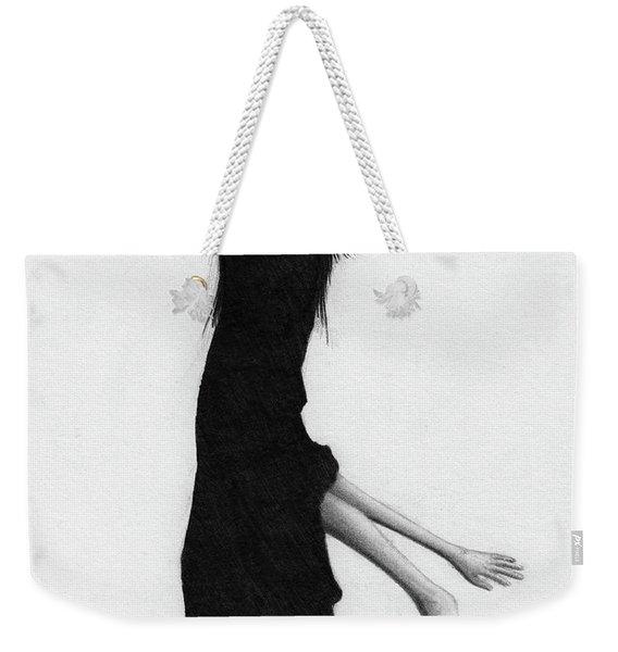 Leaning Woman Ghost - Artwork Weekender Tote Bag