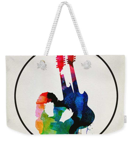Led Zeppelin Watercolor Weekender Tote Bag