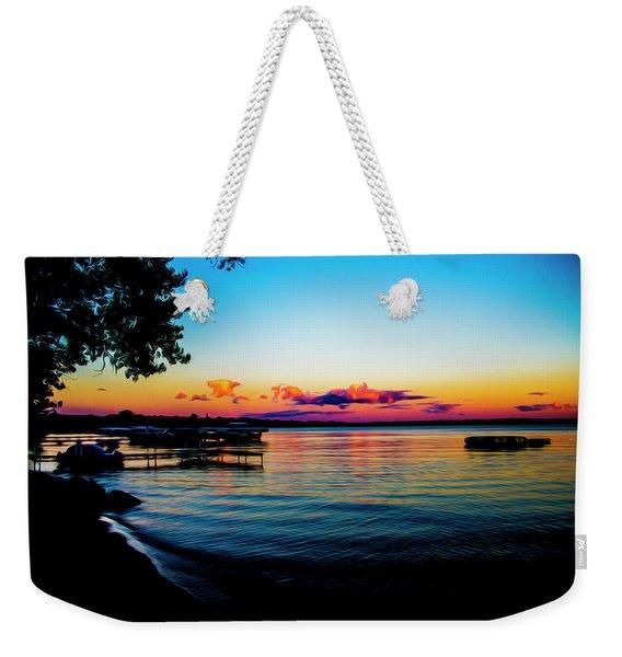 Leech Lake Weekender Tote Bag