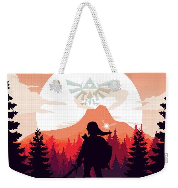 Legend Of Zelda Weekender Tote Bag