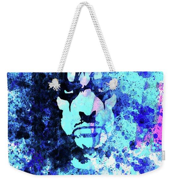 Legendary Alice Cooper Watercolor Weekender Tote Bag