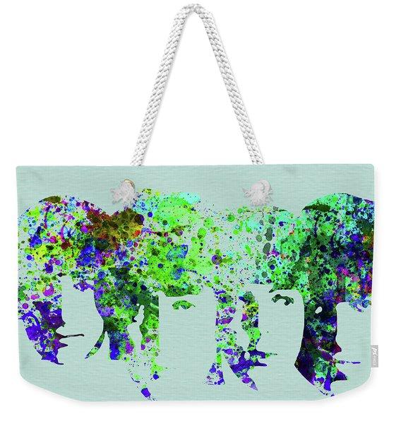 Legendary Beetles Watercolor II Weekender Tote Bag
