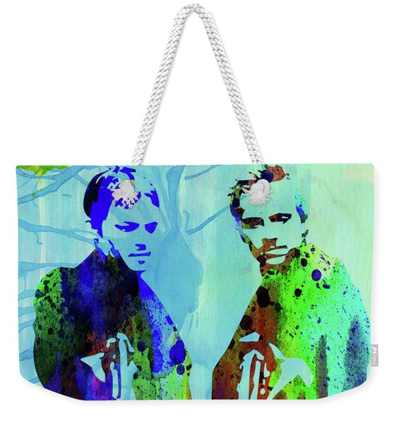 Legendary Boondock Saints Watercolor Weekender Tote Bag
