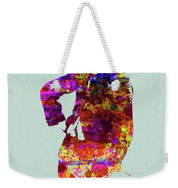 Legendary Charlie Watercolor Weekender Tote Bag