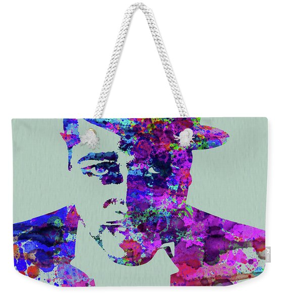 Legendary Duke Ellington Watercolor Weekender Tote Bag